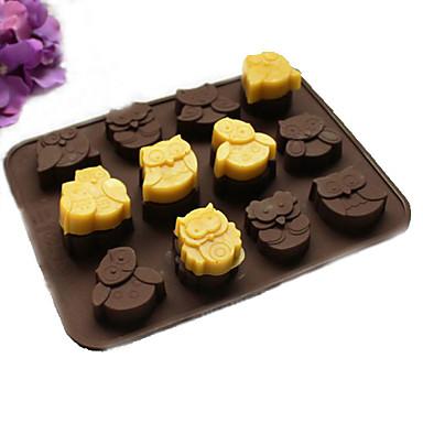 Forma do pieczenia Zwierzę o cukierki Czekoladowy Ciasteczka Tort Silikonowy Święto Dziękczynienia Walentynki Sylwester Wielkanoc