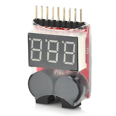 2-em-1 1 ~ 8s bateria lipo campainha de alarme de baixa tensão para rc helicóptero