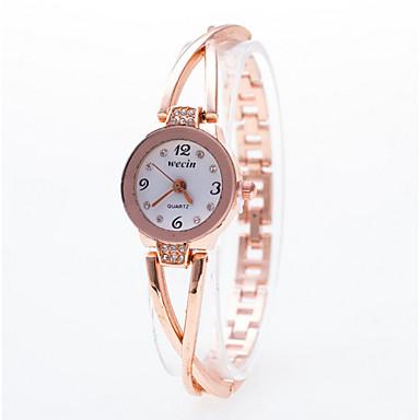 Mulheres Relógio de Moda Bracele Relógio Quartzo Banda Elegant