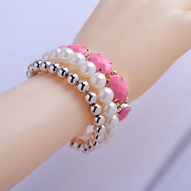 Dames Sieraden Set Strand Armbanden Sierstenen Parel Imitatieparel Hars Legering Sieraden Feest Dagelijks Causaal Kostuum juwelen