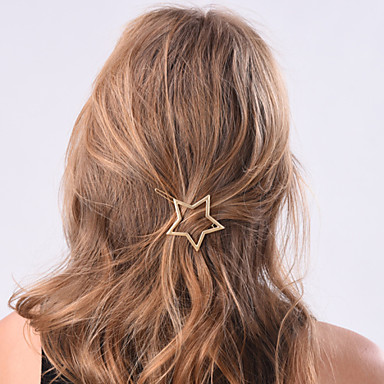 Women's Alloy Hair Clip Flower
