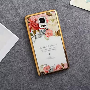 Para Samsung Galaxy Note Estampada Capinha Capa Traseira Capinha Flor TPU Samsung Note 5 / Note 4