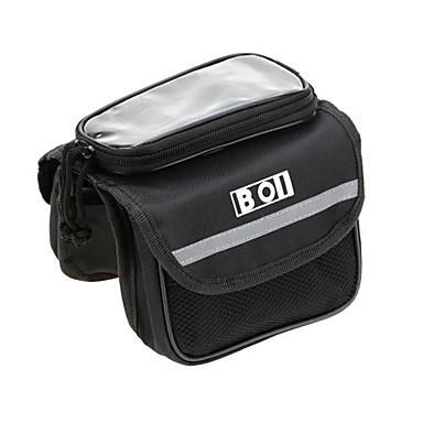 BOI Bolsa Celular / Bolsa para Quadro de Bicicleta 5.7 polegada Sensível ao Toque Ciclismo para iPhone 8/7/6S/6 / iPhone 8 Plus / 7 Plus / 6S Plus / 6 Plus / iPhone X