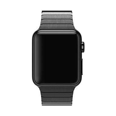 Horlogeband voor Apple Watch Series 4/3/2/1 Apple Butterfly Buckle Roestvrij staal Polsband