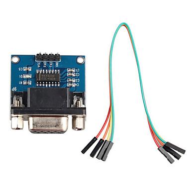 port série RS232 au module de communication de convertisseur TTL w / câble dupont pour Arduino