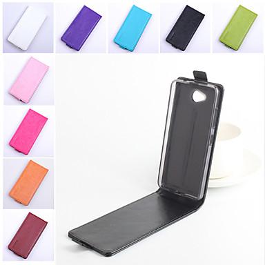 Voor Nokia hoesje Flip hoesje Volledige behuizing hoesje Effen kleur Hard PU-leer Nokia Nokia Lumia 950 / Other