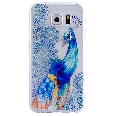 Voor Samsung Galaxy hoesje Transparant / Patroon / Reliëfopdruk hoesje Achterkantje hoesje Dier TPU SamsungS6 edge plus / S6 edge / S6 /