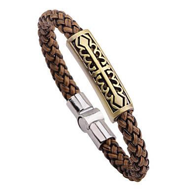 Heren Vintage Armbanden Leder Legering Kruis Slang Sieraden Dagelijks Causaal Kostuum juwelen