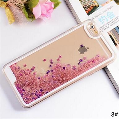 Hülle Für Apple iPhone 6 Plus / iPhone 6 Mit Flüssigkeit befüllt Rückseite Glänzender Schein Hart PC für iPhone 6s Plus / iPhone 6s / iPhone 6 Plus
