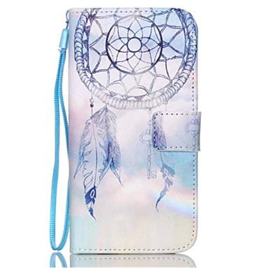 Para Samsung Galaxy Capinhas Porta-Cartão / Carteira / Com Suporte / Flip Capinha Corpo Inteiro Capinha Filtro dos Sonhos Couro PU Samsung