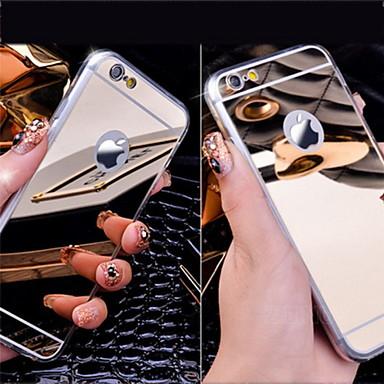 Coque Pour Apple iPhone 6 Plus / iPhone 6 / Coque iPhone 5 Plaqué / Miroir Coque Couleur Pleine Dur Acrylique pour iPhone 6s Plus / iPhone 6s / iPhone 6 Plus