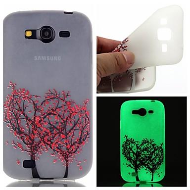 Para Samsung Galaxy Capinhas Brilha no Escuro / Estampada Capinha Capa Traseira Capinha Árvore TPU SamsungOn 7 / On 5 / J3 / J1 Ace /