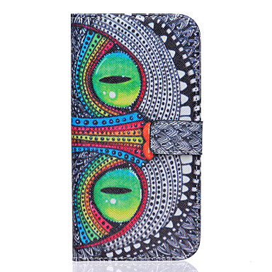Para Samsung Galaxy Capinhas Carteira / Porta-Cartão / Com Suporte / Flip Capinha Corpo Inteiro Capinha Gato Couro PU Samsung S7 edge / S7