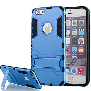 schokbestendig hybride robuuste pc silicagel armor case voor de iPhone 6 / 6s (diverse kleuren)