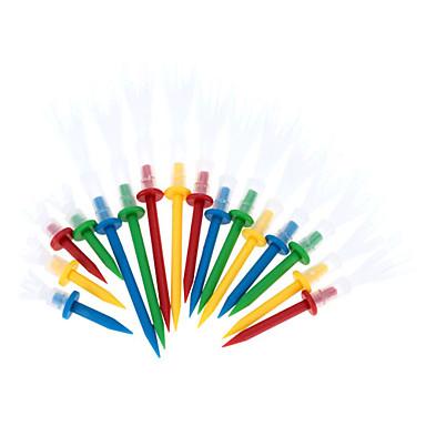 16pcs / box professionele golf tee 4 yards multicolor duurzaam golf tee golf accessoires