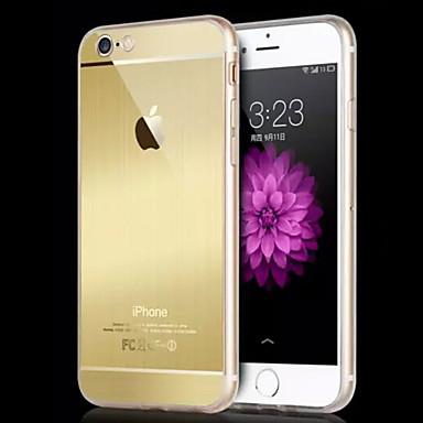 Voor iPhone 6 hoesje Transparant hoesje Volledige behuizing hoesje Effen kleur Hard TPU voor AppleiPhone 7 Plus / iPhone 7 / iPhone 6s