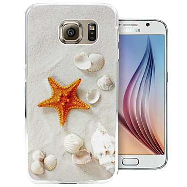 kleine zeester patroon pc Cover Case voor Samsung Galaxy S6 / S6 rand