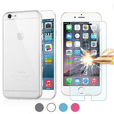 Για Θήκη iPhone 6 / Θήκη iPhone 6 Plus Εξαιρετικά λεπτή / Διαφανής tok Πίσω Κάλυμμα tok Μονόχρωμη Μαλακή TPUiPhone 6s Plus/6 Plus /