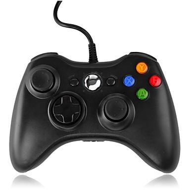 olcso Videojáték tartozékok-*3-PC001BW Vezetékes játékvezérlő Kompatibilitás Xbox 360 / PC ,  Játék kar játékvezérlő ABS 1 pcs egység