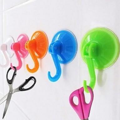 Vacuum ucker Hook Kitchen Bathroom Clothe Coat Wall uction Cup Hanger