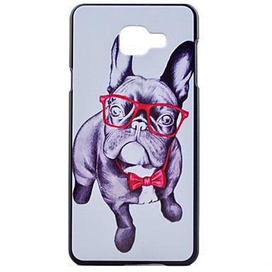 Capinha Para Samsung Galaxy Samsung Galaxy Capinhas Estampada Capa Traseira Cachorro PC para A7(2016) A5(2016) A3(2016)