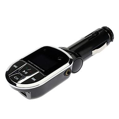 3 în 1 masina mp3 player / adaptor / transmițător FM wireless cu USB slot pentru mufă SD