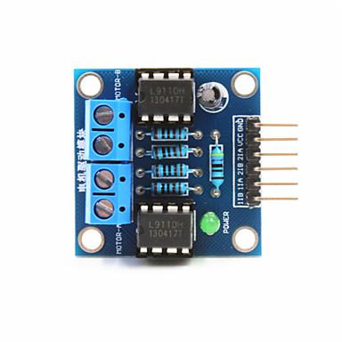 módulo da unidade de motor DC 2 vias para arduino + pi framboesa - azul