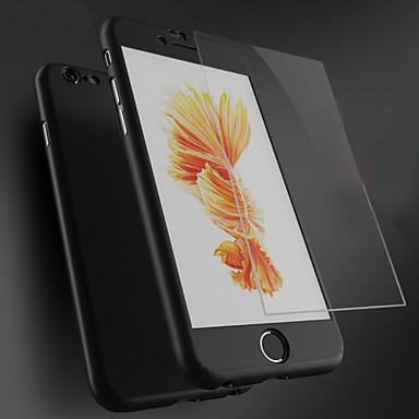 Para iPhone 8 iPhone 8 Plus iPhone 6 iPhone 6 Plus Case Tampa Antichoque Capa Traseira Capinha Côr Sólida Rígida PC para iPhone 8 Plus