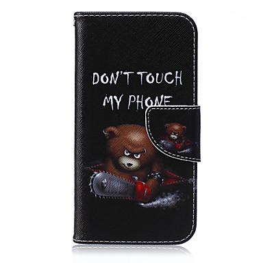 Capinha Para Samsung Galaxy Samsung Galaxy Capinhas Porta-Cartão Carteira Com Suporte Flip Capa Proteção Completa Desenho Animado PU