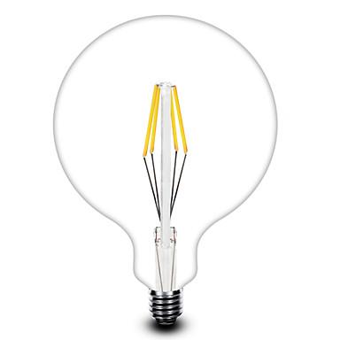 E26/E27 Lâmpadas de Filamento de LED T 4 COB 4001 lm Branco Quente AC 220-240 V 1 pç