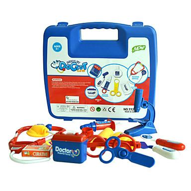 Kits médicos Brinquedos de Faz de Conta Profissões e Faz de Conta Brinquedos Multifunção Conveniência Diversão Adorável Médico ABS