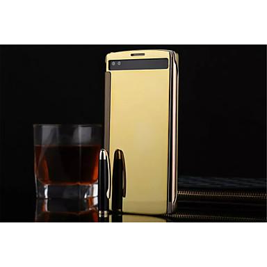 Para Capinha LG Espelho / Flip / Transparente Capinha Corpo Inteiro Capinha Cor Única Rígida Acrílico LG LG V10