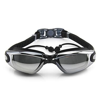 Zwembrillen Anti-condens Verstelbare Maat Anti-UV waterdicht silica Gel PC Wit Grijs Zwart Blauw Rose Grijs Zwart Licht Blauw Paars