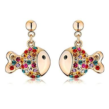 Dames Druppel oorbellen Kristal Sieraden Bruiloft Feest Dagelijks Causaal Kostuum juwelen
