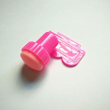 2pcs Plastic Pentru deget deget de la picior Încântător nail art pedichiura si manichiura Abstract / Clasic / Desen animat Zilnic / ștampilare Placă