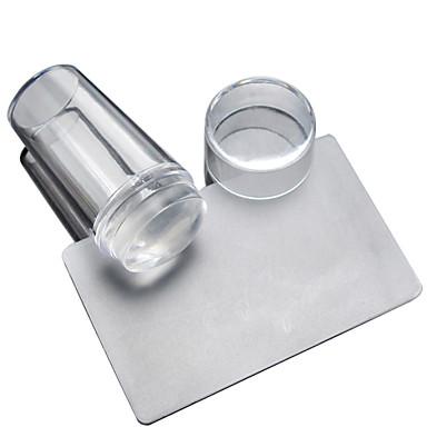 1 set nagel transparante deksel seal