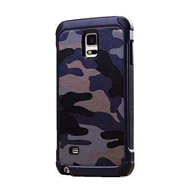 Case Kompatibilitás Samsung Galaxy Samsung Galaxy Note Ütésálló Fekete tok Álcázás PC mert Note 5 Note 4