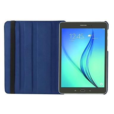 Mert Samsung Galaxy tok Állvánnyal / Flip / 360° forgás Case Teljes védelem Case Egyszínű Műbőr Samsung Tab S2 8.0