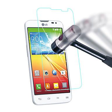 0,3 mm-es edzett üveg kijelző védő mikroszálas kendővel lg g2