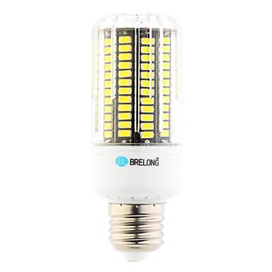 12W 1000 lm E26/E27 LED Corn Lights T 136 leds SMD Warm White Cold White AC 220-240V