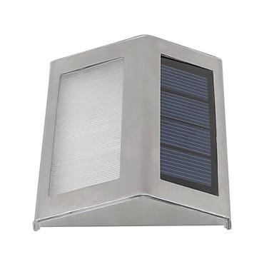 napelemes fali lámpa 2 LED kültéri vízálló kerti út lépcsőn napelemes lámpa