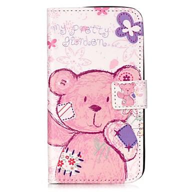غطاء من أجل LG K8 LG LG K10 LG K7 LG G5 حامل البطاقات محفظة مع حامل قلب مغناطيس نموذج غطاء كامل للجسم حيوان قاسي جلد PU إلى LG V10