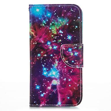 Mert iPhone 5 tok Kártyatartó / Állvánnyal Case Teljes védelem Case Látvány Kemény Műbőr iPhone SE/5s/5