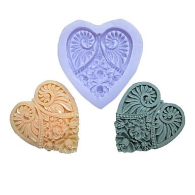 Bakeware araçları Silikon Çevre-dostu Kek Kurabiye Çikolota Pasta Kalıpları 1pc