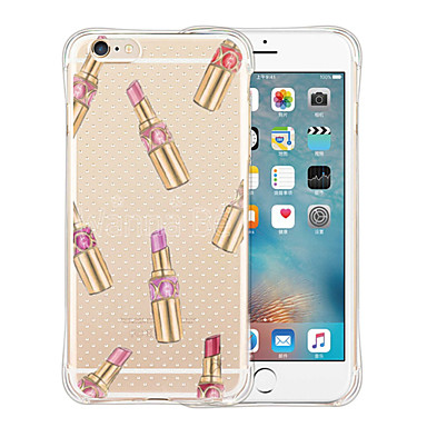 Case Kompatibilitás Apple iPhone 6 iPhone 6 Plus Minta Fekete tok Csempe Puha Szilikon mert iPhone 6s Plus iPhone 6s iPhone 6 Plus iPhone