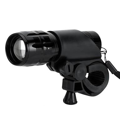 LS1798 פנס LED LED LED 1 Emitters 500 lm 3 מצב תאורה טקטי, עמיד במים, מיקוד מתכוונן מחנאות / צעידות / טיולי מערות, שימוש יומיומי, רכיבה על אופניים / IPX-4