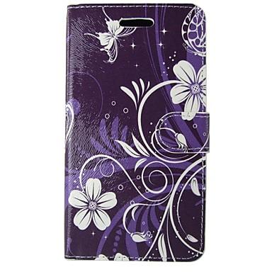 Недорогие Чехлы и кейсы для Galaxy S4 Mini-Кейс для Назначение SSamsung Galaxy S8 / S7 / S6 edge Кошелек / Бумажник для карт / со стендом Чехол Камуфляж / Мандала / Цветы Твердый Кожа PU