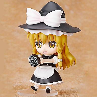 애니메이션 액션 피규어 에서 영감을 받다 동방 프로젝트 Marisa Kirisame 10 CM 모델 완구 인형 장난감