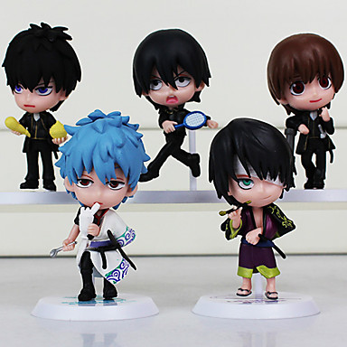 Anime Action Figures geinspireerd door Gintama Cosplay PVC 6.5cm CM Modelspeelgoed Speelgoedpop