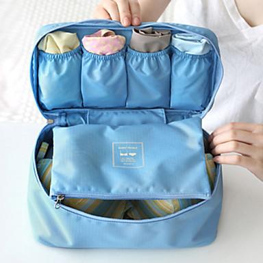 Helytakarékos kompressziós zsákok Poggyászrendező utazáshoz Hordozható Több funkciós Tárolási készlet mert Ruhák MELLTARTÓK Anyag / Utazás